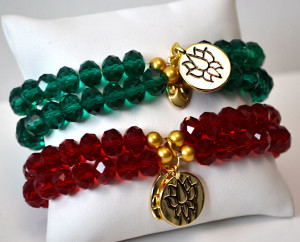 Greeen-and-red-crystal-bracelets
