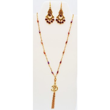SALE 50% off !***Om Blessings Necklace