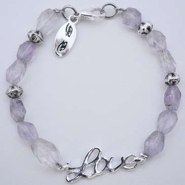SALE 50% off ****Lovely Lavender -Amethyst Bracelet