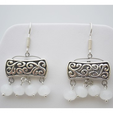 Arabic Dawn Crystal Earrings
