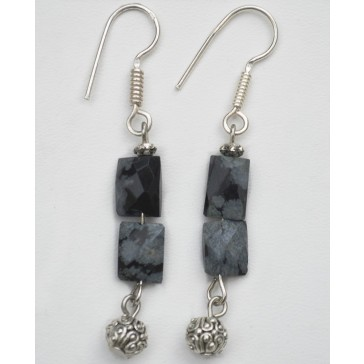 NEW****Black Ice Earrings