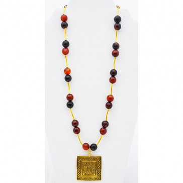 SALE ITEM-Org Price $46.00-40%Off - Chocolate Gold Necklace
