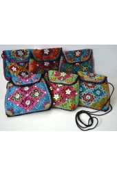 Beaded Bags with Strap