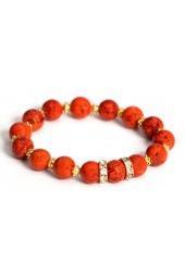 Clearance Sale*** 50% off original price of $28 - Orange Sunset Bracelet