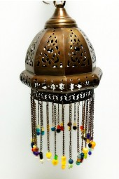 NEW ** Hand Crafted Hanging Arabian/Egyptian Moroccan style Lamps with Hanging beads