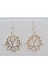 Lotus Blossom Earrings Lotus Flower
