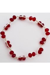 SALE****  50% off Red Crystal Stretch Bracelet