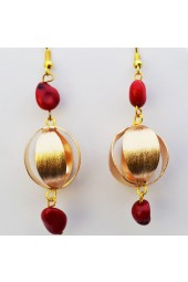 NEW****Red Sea Sunrise Earrings
