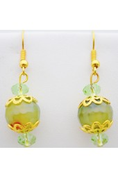 Green Oasis Earrings
