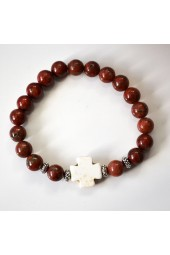 NEW****Red Brown Jasper Bracelet