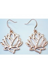 Lotus Blossom Earrings  Lotus Flowers