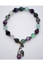 Genius in Lavender Bracelet with Fluorite Gemstones