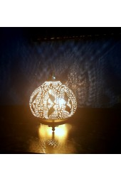 Hand Crafted Arabian/Egyptian Morrocan Lamps- Table Top Round