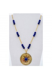 SALE ITEM Org Price $45 - 50% off - Egyptian Blue Necklace