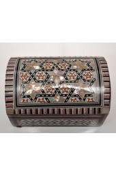 Wooden Medium Egyptian Boxes with Mother of Pearl Inlay Design