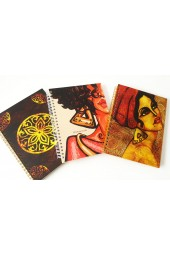 Spiral bound Hardcover Notebooks in Colorful Designs