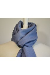 Blue Fringed Scarf (Available in other colors)